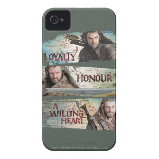 Loyalty, Honor, A Willing Heart Case-Mate iPhone 4 Case