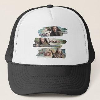 Loyalty, Honor, A Willing Heart Trucker Hat