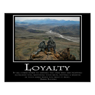 Loyalty Poster