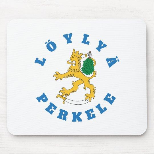 Löylyä perkele - Suomileijona saunoo - hiirimatto Mouse