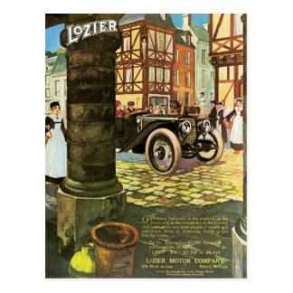 "Lozier ""Light Six"" Post Cards"