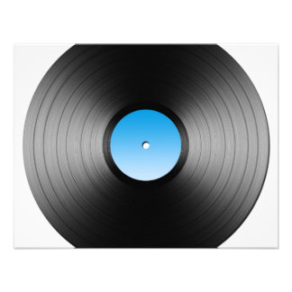 LP Record Personalized Announcements