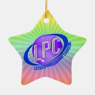 LPC SWOOSH LOGO LICENSED PROFESSIONAL COUNSELOR CHRISTMAS ORNAMENT