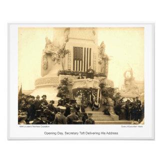 LPE09 - Opening Day, Secretary Taft Photo Print