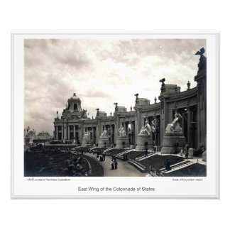 LPE14 - East Wing of the Colonnade of States Photo Print
