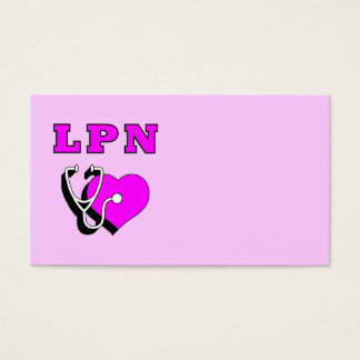 LPN Care Business Card
