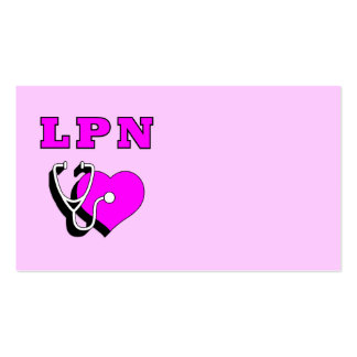 LPN Care Pack Of Standard Business Cards