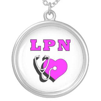 LPN Care Round Pendant Necklace
