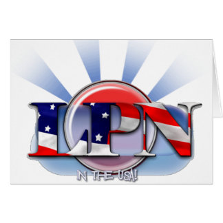 LPN IN THE USA (LICENSED PRACTICAL NURSE) CARDS