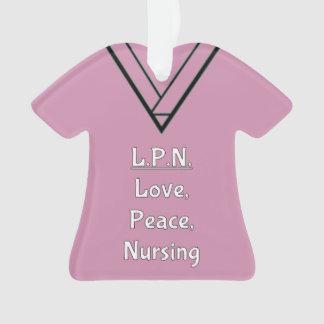 LPN Nurse Scrubs Ornament