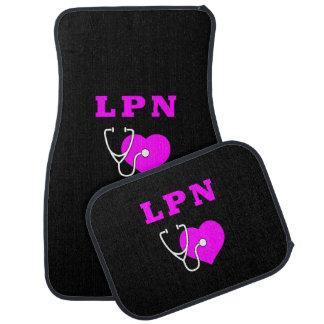 LPN Nurses Care Floor Mat