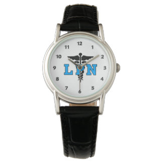 LPN Nurses Medical Symbol Watch