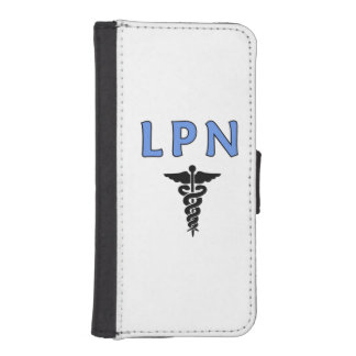 LPN Nurses Symbol Phone Wallet Case