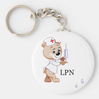 LPN Teddy Bear Keychain
