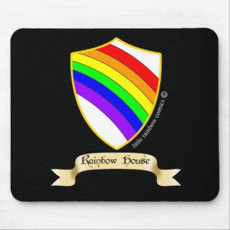 LRC: Rainbow House Mouse Pad