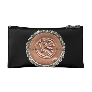 LRS Labyrinth Readers Society Slim Cosmetic Bag