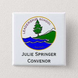 ls logo col, Claire Paul Convenor 15 Cm Square Badge