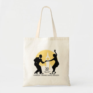 LSDS 30 Years Anniversary Lindy Hop Tote Bag