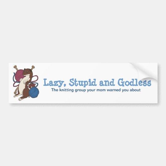 LSG Tweasel Bumper sticker