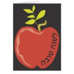 L'shana tova Apple Rosh Hashanah Greeting card