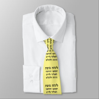 L'Shana Tovah... (Happy Jewish New Year) Tie