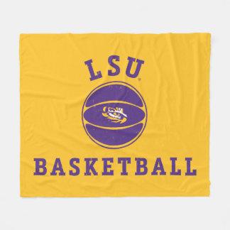 LSU Basketball | Louisiana State 4 Fleece Blanket