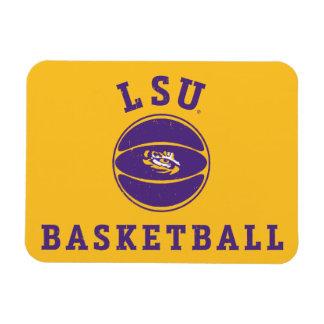 LSU Basketball | Louisiana State 4 Magnet