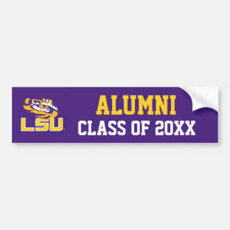 LSU Eye of the Tiger Bumper Sticker