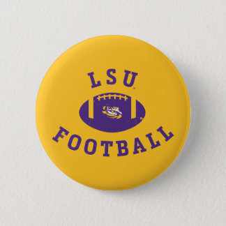 LSU Football | Louisiana State 4 6 Cm Round Badge