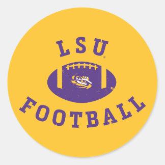 LSU Football | Louisiana State 4 Classic Round Sticker