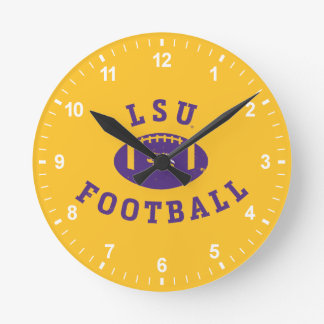 LSU Football | Louisiana State 4 Round Clock