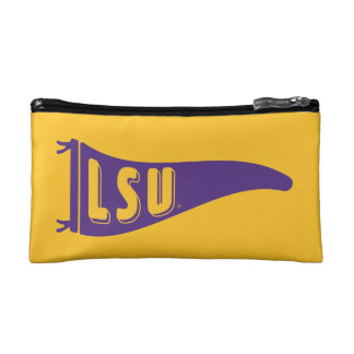 LSU Pennant Flag | Louisiana State 4 Cosmetic Bags