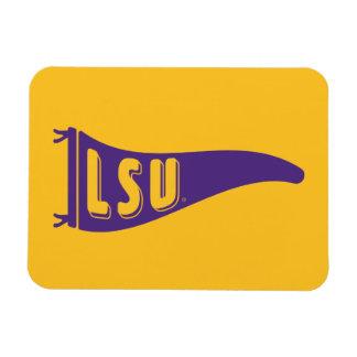 LSU Pennant Flag | Louisiana State 4 Magnet