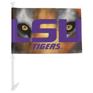 "LSU Tigers ""Eye of the Tiger"" Car Flag"