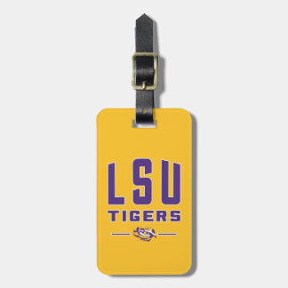 LSU Tigers | Louisiana State 4 Luggage Tag