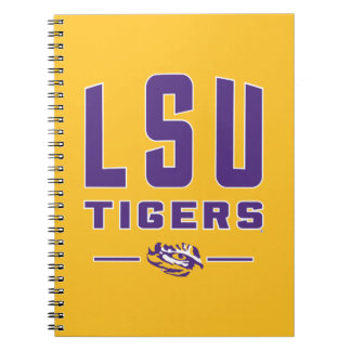 LSU Tigers | Louisiana State 4 Spiral Notebook