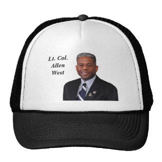 Lt Col Allen West Trucker Hats