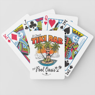 Lt. Dan's Tiki Bar & Pool Oasis Bikini Babe Poker Deck