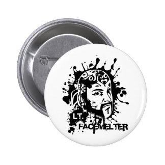 Lt. Facemelter 6 Cm Round Badge