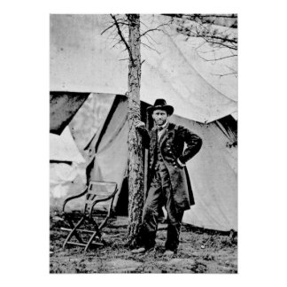 Lt General Ulysses S Grant Poster