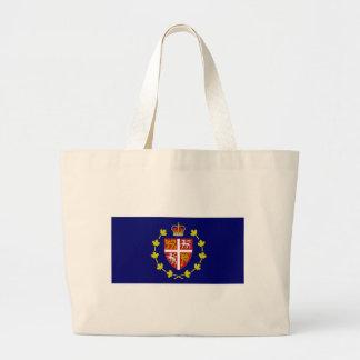 Lt Governor Newfoundland amp Labrador Flag Canvas Bags