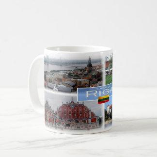LT  Latvia Lietuva - Riga - Coffee Mug