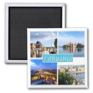 LT * Lithuania Magnet