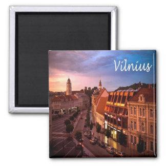 LT - Lithuania - Vilnius Magnet