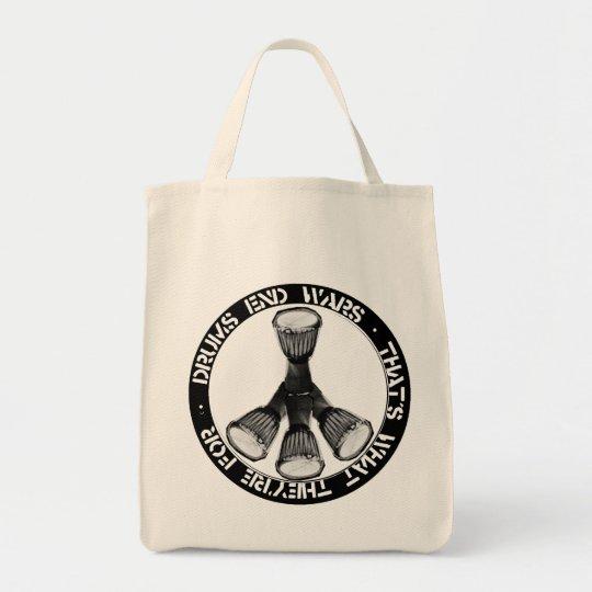 Ltd Ed Drum Grocery Bag