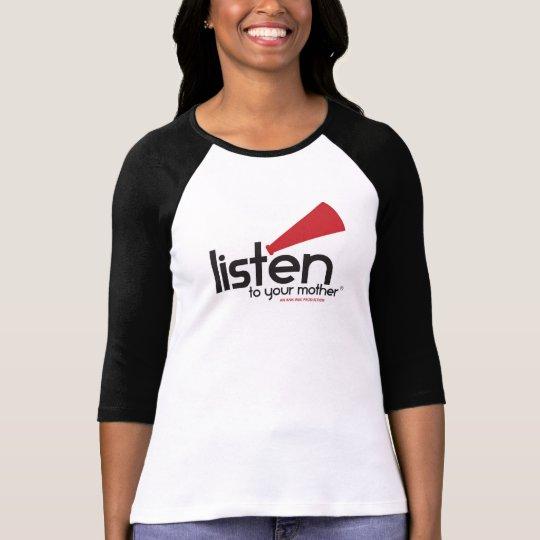 LTYM Women's Fitted Baseball [Runs VERY small] T-Shirt