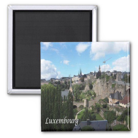 LU - Luxembourg - Luxembourg Square Magnet