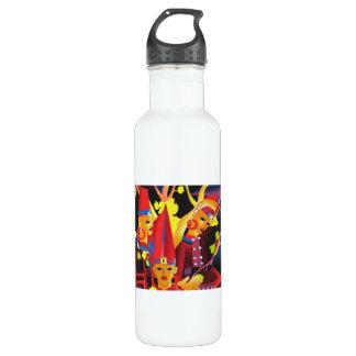 Lu Min Dressing Yao Girls oriental fine art 24oz Water Bottle