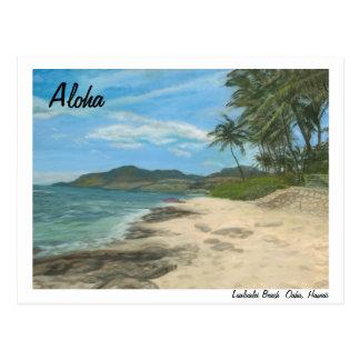 Lualualei Beach Hawaii Postcard