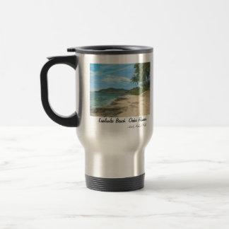 Lualualei Beach Hawaii Stainless Steel Travel Mug